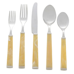 Horn Five Piece Place Setting