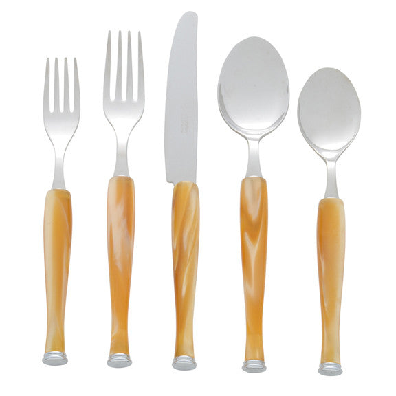 Honey Five Piece Place Setting
