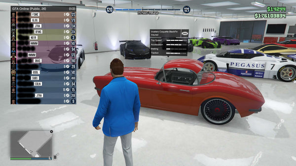 Premium GTA Online Account With 3 Months PS Plus! - ModMyGame - 1