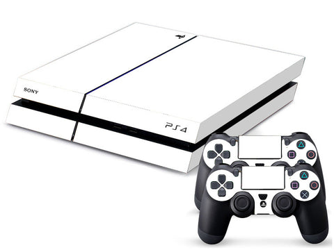Pure White PS4 Skin