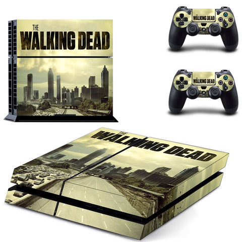 The Walking Dead PS4 Skin
