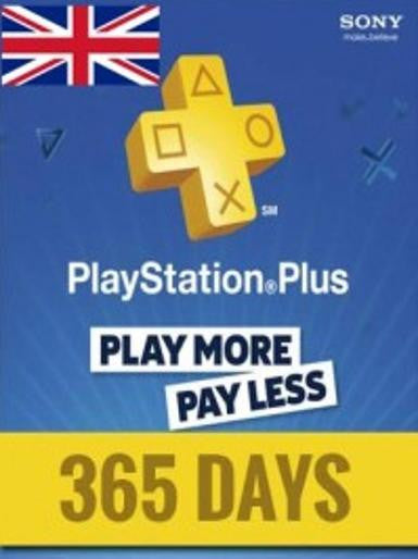 PlayStation Network Card (PSN) 365 Days (United Kingdom) - ModMyGame