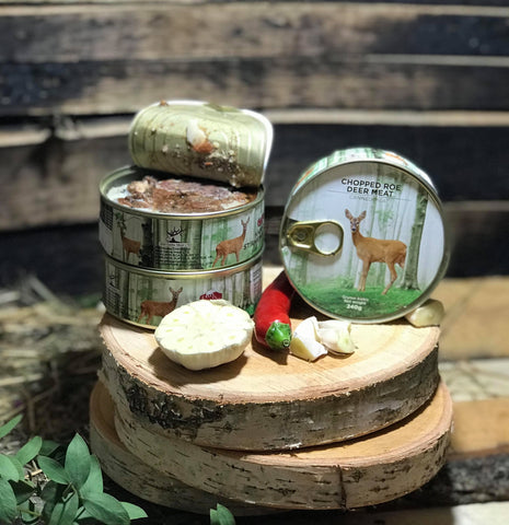 Canned Roe Deer meat || GET 2 for £10