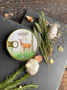 Canned Roe Deer meat - Wild Game Meat