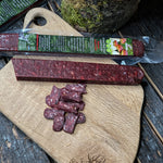 Dried Red Deer salami with Boletus mushroom