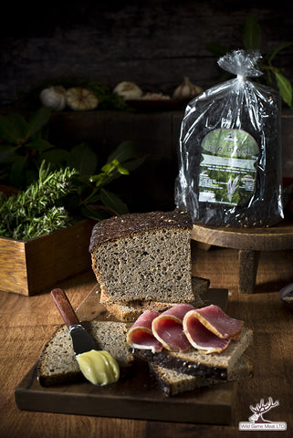 Rye Bread with Hemp seeds  750g  £3 or 2 for £5.00 - Wild Game Meat