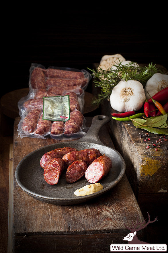 Elk Sausages ~350g. - Wild Game Meat