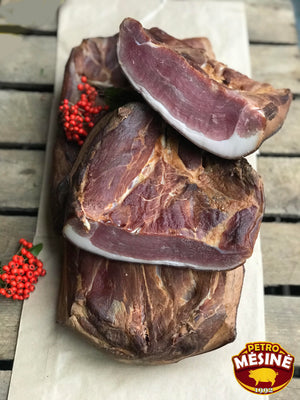 Petro Pork Ham Fat - Wild Game Meat