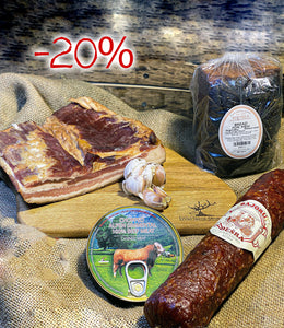 Pork & Beef set - SAVE 20% - Wild Game Meat