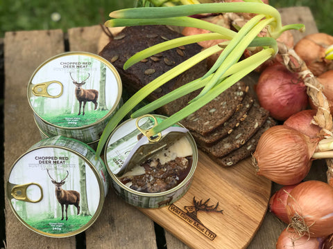 Canned Red Deer Meat || get 2 for £10