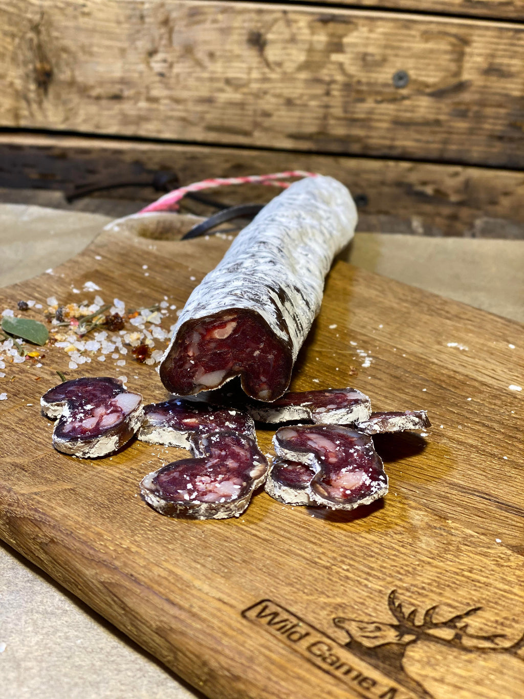 NEW! Air Dried Red Deer Salami