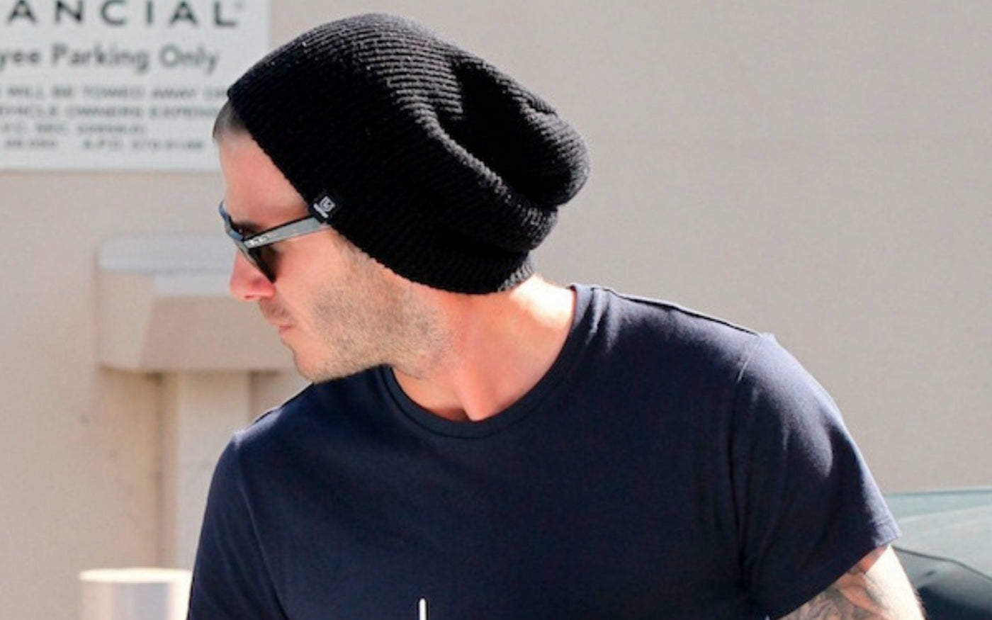 c7df2f595f3 David Beckham Beanie - Get the look - Slouchy Beanies for Men - King ...