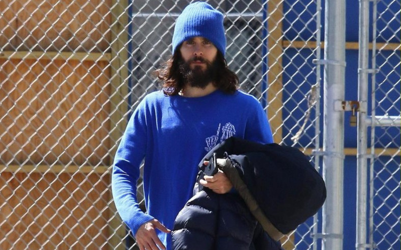 Jared Leto beanie - Get This Look - Mens beanie