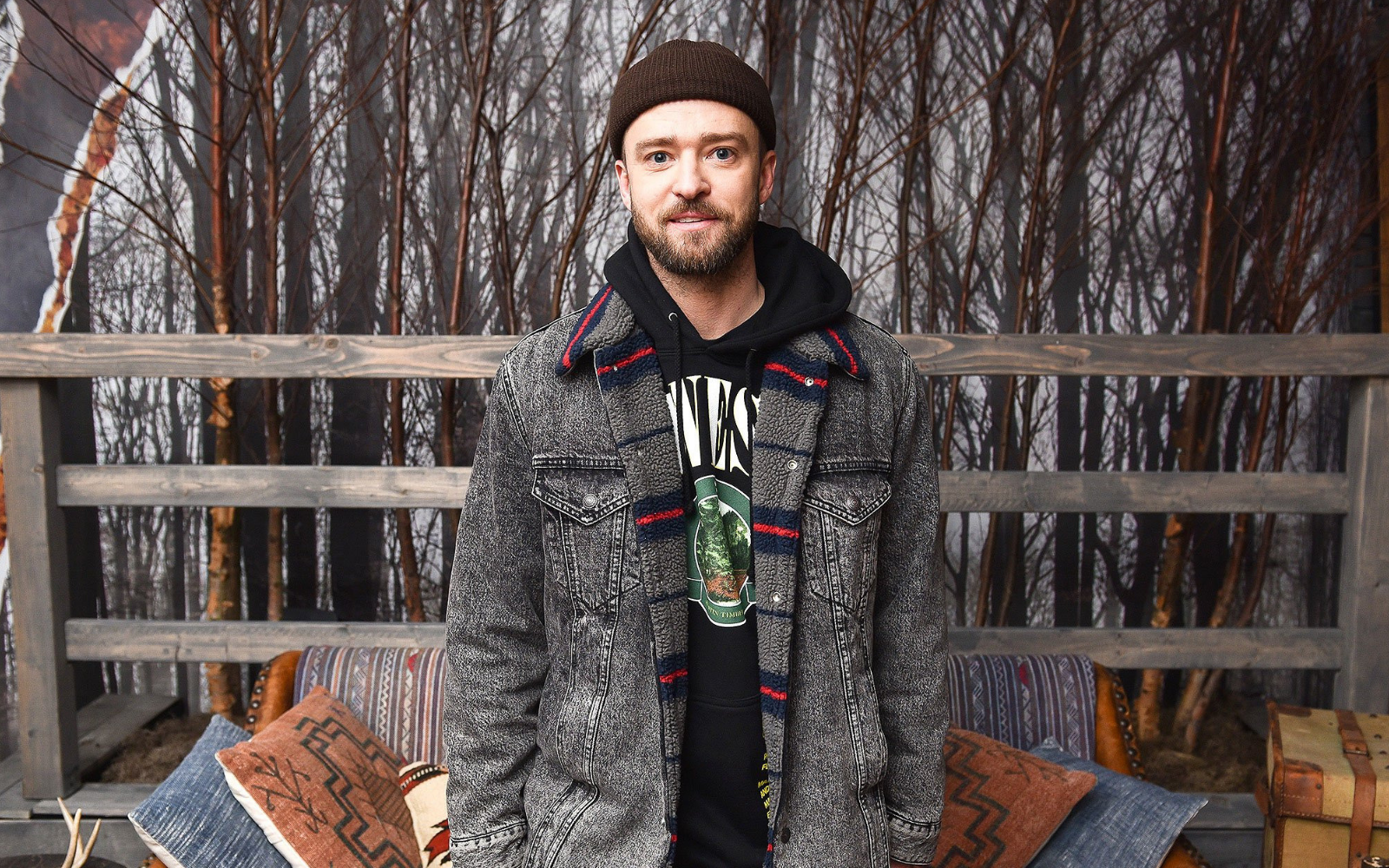 Justin Timberlake Short Beanie - Get the look - Fisherman Beanie