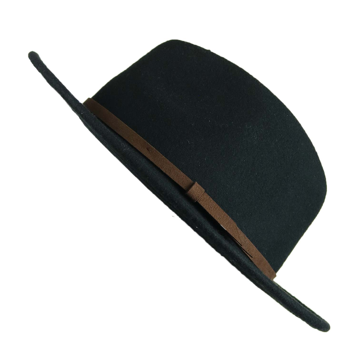 Mens Wide Brim Fedora - The Arlo