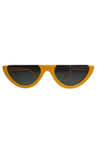 Scha Sunglasses Half Frame in Yellow