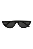Scha Sunglasses Half Frame in Black