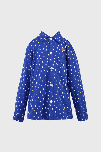 Tobby Long Sleeves Shirt in Blue