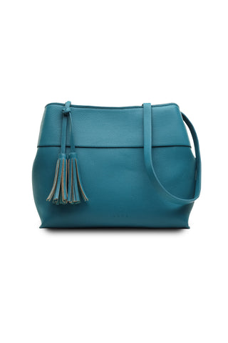 Taia Shoulder Bag in Green Turquoise