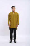 Aqil Kurta in Yellow