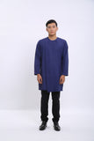Syah Kurta in Navy Bule