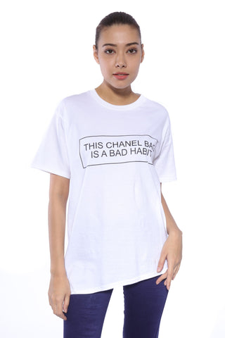 TSHIRT - This Chanel Bag Is A Bad Habit