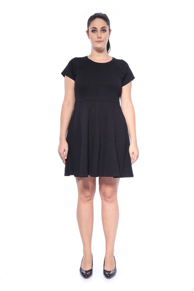 Marilyn Short Dress in Black