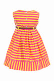 Annabelle Dress in Yellow Coral