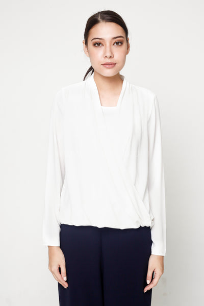 Miley Top 005 in White