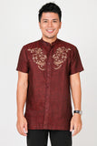 Andika Shirt 022 in Maroon