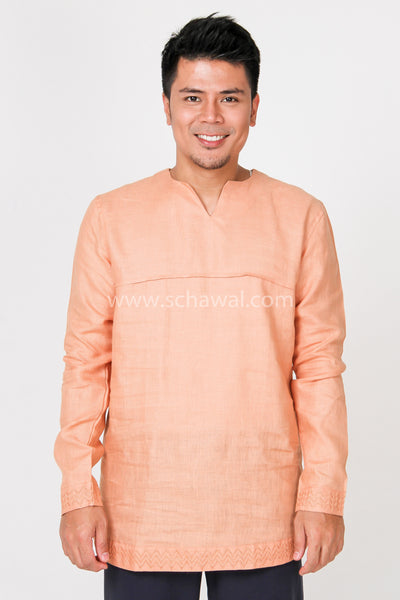 Nusa Shirt 006 in Orange