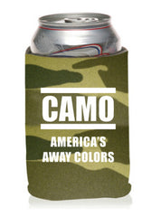 Camo - America's Away Colors Neoprene Can Coolie