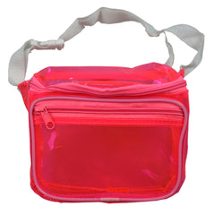 Clear Pink Fanny Pack