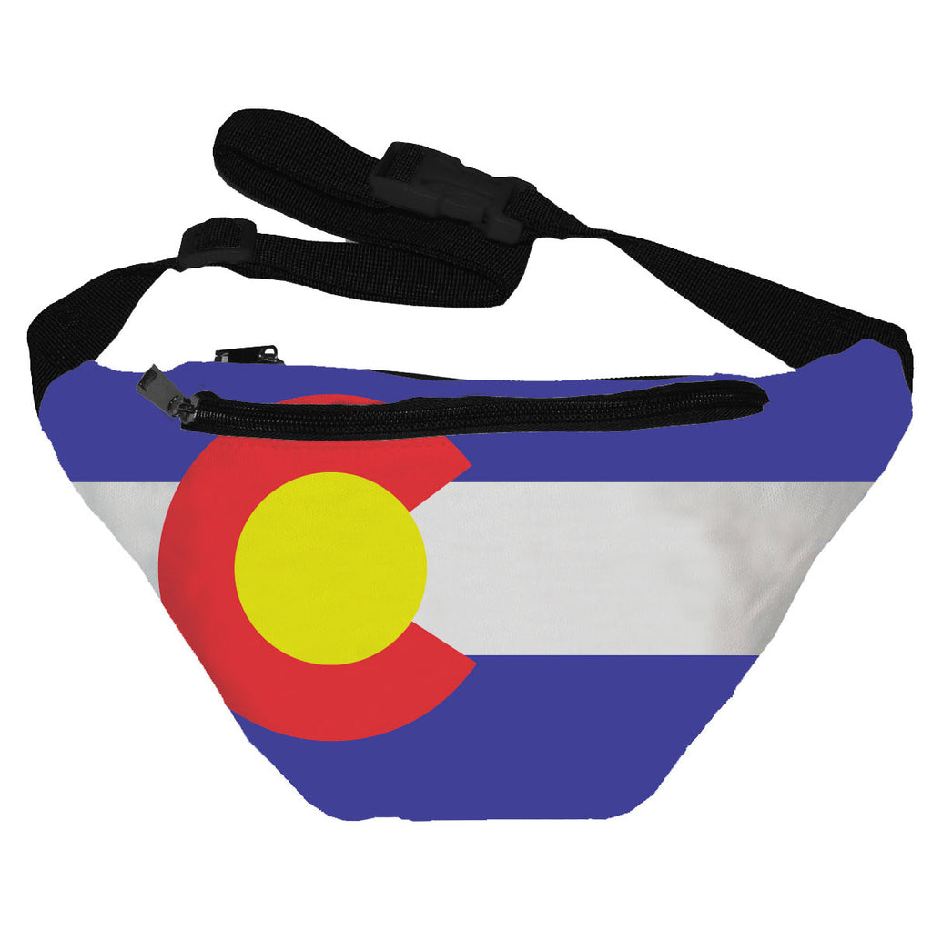 Colorado Flag Fanny Pack
