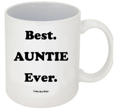 Best Auntie Ever - #1 On Bottom Mug