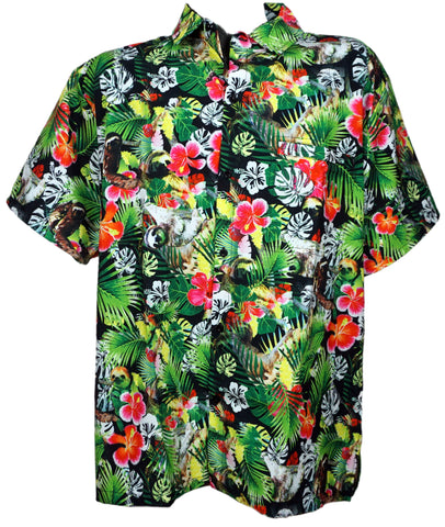 Hang Ten Sloth Hawwaiian Shirt