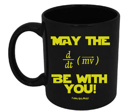 May The Force Be With You Equation Mug