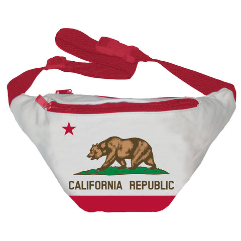 California Flag Fanny Pack