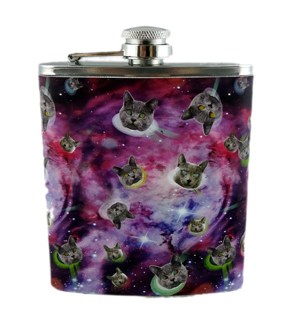 Space Cats Flask