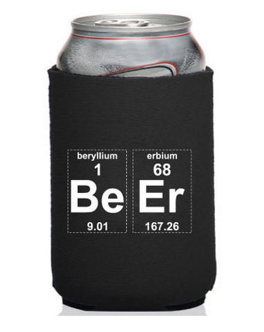Periodic Beer Neoprene Can Coolie