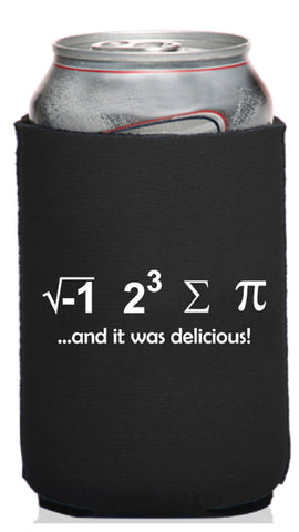 I Ate Sum Pi and It Was Delicious Neoprene Can Coolie