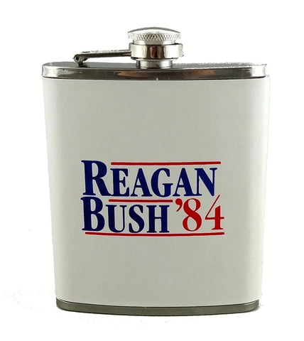 Reagan Bush '84 Flask