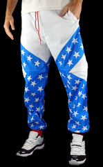 USA Patriotic Windbreaker Pants