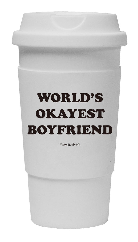 World's Okayest Boyfriend Tumbler