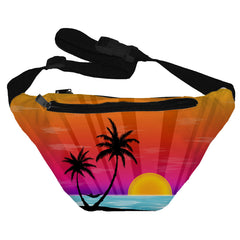 Island Sunset Fanny Pack
