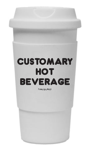 Customary Hot Beverage Tumbler