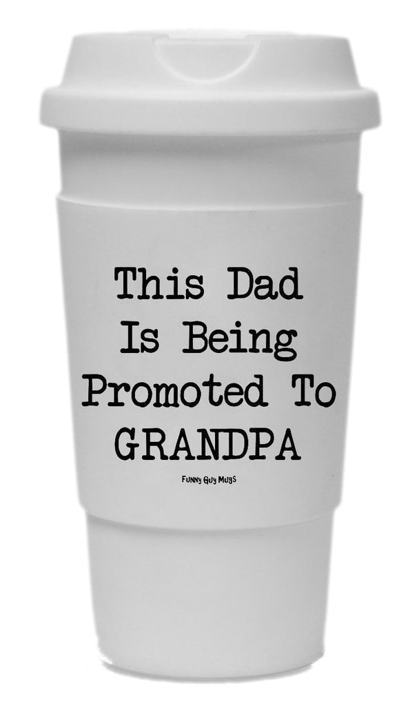 This Dad Is Being Promoted To Grandpa Tumbler