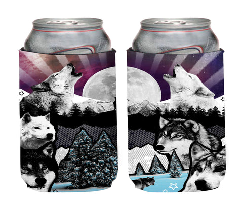 Wolf Neoprene Can Coolie