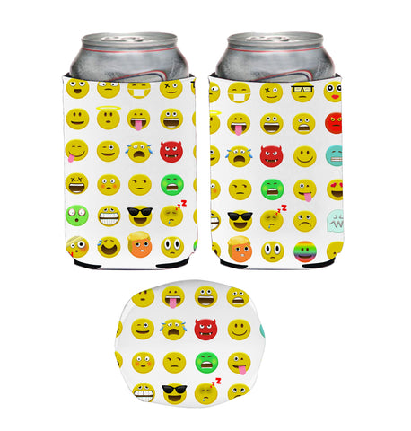 Faces Neoprene Can Coolie