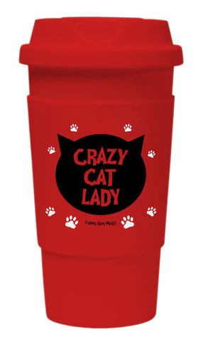Crazy Cat Lady Tumbler
